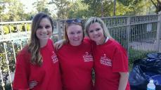 Brittni Carter, Elizabeth Breaux, and Teresa Black