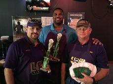 The Bayou Boys -Wren Nealy, Fred Miller, and Tom Harris