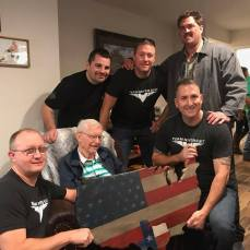 Task Force Hoosier Returned for 100th Birthday